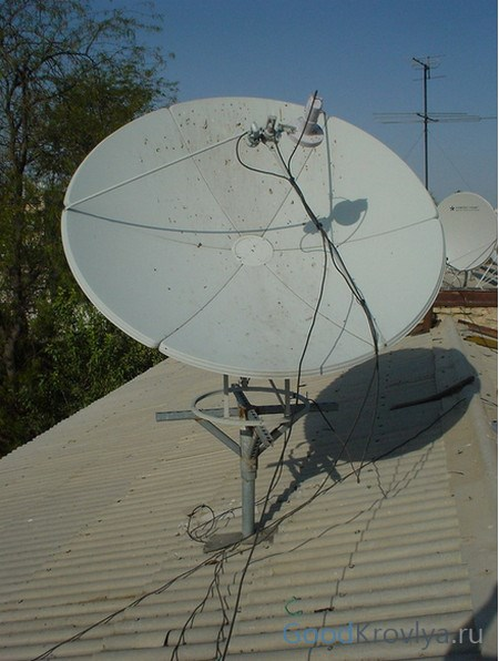 Монтаж спутниковой антенны своими руками